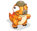 Orangepachycephalosaurus toddler@2x