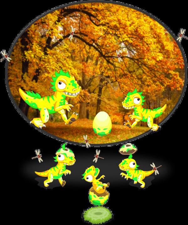 NeonRaptor DinoDiorama1