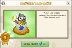 NurseryCrates2 Tier4 YellowLeafDragon Notification