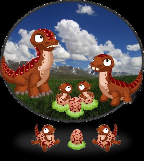 DinoDiorama PlainsBronto