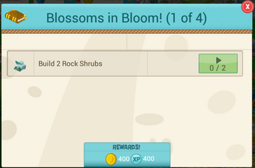 Blossoms in Bloom Step1