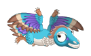 Archaeopteryx teen inflight 0011