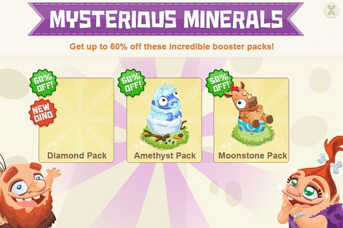 Modals BoosterPack mysteriousMinerals 1217@2x