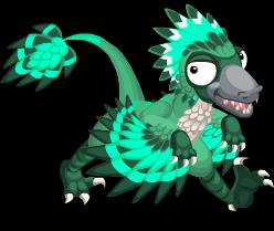 EmeraldBambiraptor Adult