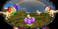 Rainbow Dilophosaurus