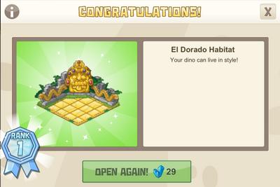 Rank 1 el dorado habitat