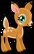Cubby deer common single