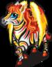 Zebra pegasus single