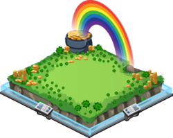 Rainbow treasure