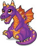 Halloween dragon single