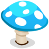 Blue Toadstool