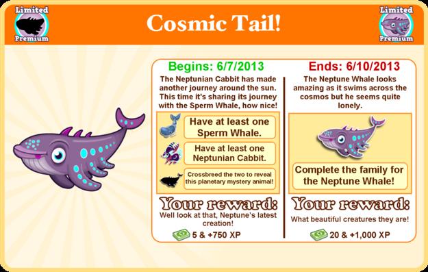 Neptune whale goal modal
