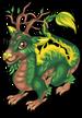 Forest dragon single
