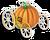 Goal pumpkin carriage icon