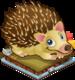Autumn hedgehog single