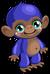 Cubby monkey blueberry single