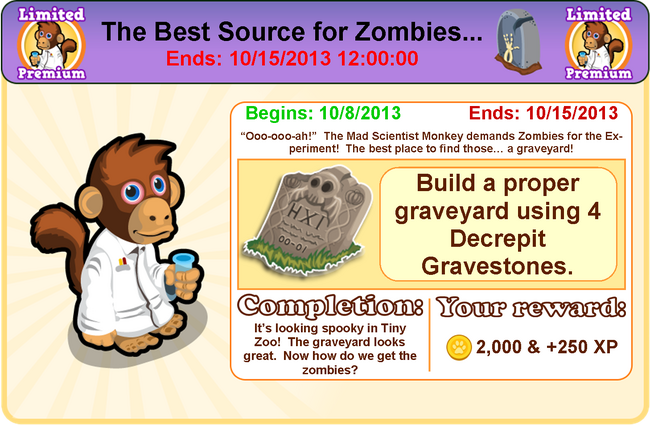 Goal zombie modal2