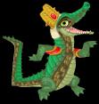 Crocodile of sobek an