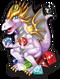 Birthstone dragon single