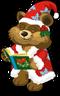 Caroling bear single