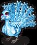 Snowflake peacock single