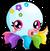 Cubby Octopus Rainbow single