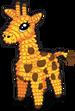 Pinata giraffe single