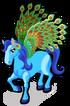 Peacock pegasus single