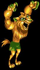 Golden bucks werewolf an