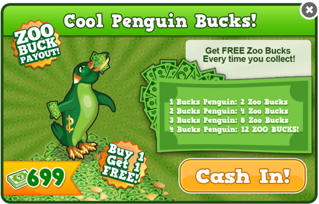 Bucks penguin modal