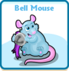 Bell mouse card