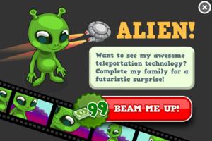 Alien animators modal