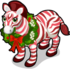 Peppermint Zebra single