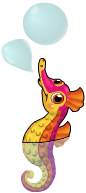 Pygmy seahorse an