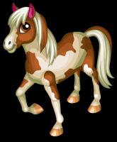 Paint horse single