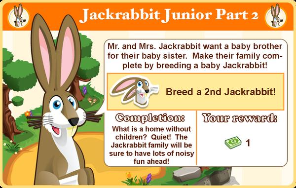 Jack rabbit goal4 modal