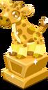 Giraffe baby trophy