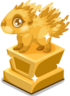Porcupine baby trophy
