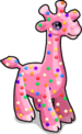 Frosted giraffe single