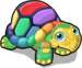 Rainbow turtle single