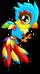 Cubby phoenix rainbow single