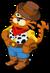 Cowboy tiger single
