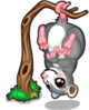 Upside down possum single