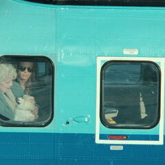 Old Rose and her grand-daughter, Lizzy heading to the <a href=