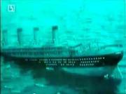 Titanic In Night & Ice Ship Sinking