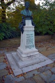 Bust of Wallace Hartley - geograph.org.uk - 1547029