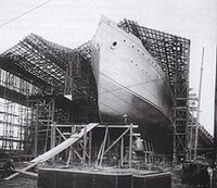 RMS Capathia Launch