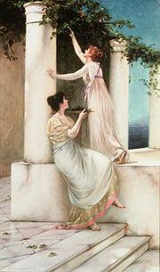 Francis Davis Millet - An Autumn Idyll, 1892