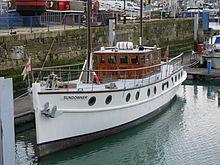 File:Sunday 4 April, Ramsgate, Dunkirk Little ship Sundowner.JPG