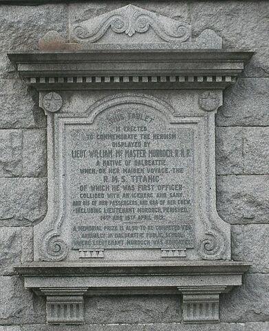 File:Dalbeattie William McMaster Murdoch memorial.jpg